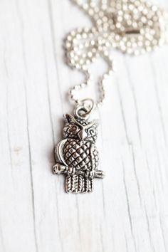 Owl Pendant by WhiteLilyDesign, $10.00