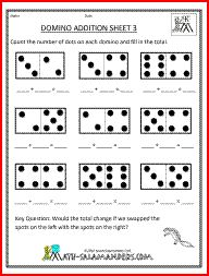 67 best Domino math images on Pinterest | Teaching math, 1st grade ...