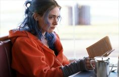 Kate in Eternal Sunshine of the Spotless Mind - wish I could dye my hair a color a week.