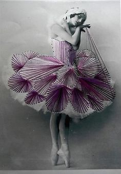 Due to dancing, Bev remains slim and elongated, perfect for the new flapper style.