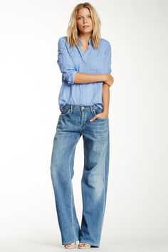 Fusion Billow Boyfriend Jean by Citizens Of Humanity - I've been dying for a pair of baggy jeans!!!