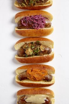 5 (3-Ingredient) Slow-Cooker Sauces for Brats and Burgers — The Summer Slow Cooker