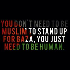 Gaza... My heart is heavy over this tonight...