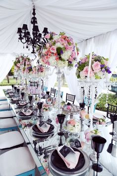Alice in Wonderland Themed Sweet 16 {Ciel's Very Merry Unbirthday} by Melody Melikian Photography