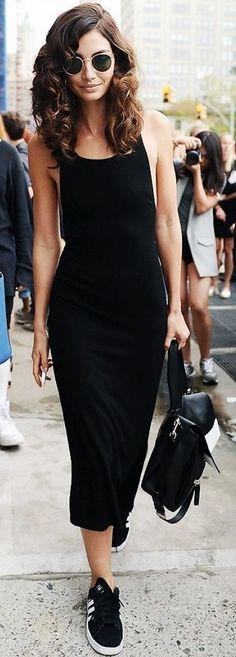 All Black, Street Style / fall fashion Inspiration.