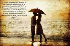 II.6.- SENSACIONES EN EL CURSO DE LUIS JIMÉNEZ. RELACIONES DE PAREJAS. Diría aquél, o sea, cualquiera de ambos: es la segunda vez que hago este curso y puedo decir que Luis desactiva todos los patrones desde los que, sin un verdadero desarrollo de la conciencia, vivimos los vínculos de pareja, seguramente la relación que trasciende en importancia a cualesquiera otras.... continúa en El Trimestral Iniciático: http://goo.gl/nTGqQ3 #escuelandalusi #escueladepensamiento