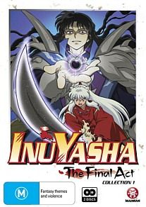- Inuyasha: The Final Act - Collection 1 Kagome is an ordinary schoolgirl who finds her destiny linked to the half-demon Inuyasha and the powerful Shikon Jewel.