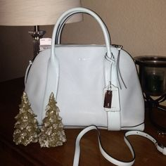 Coach Bags - BRAND NEW COACH PURSE. Never used baby blue