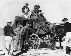 Behind the scenes of John Ford's first sound western, 'Stagecoach.'