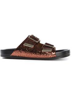 GIVENCHY Glitter Embellished Sandals
