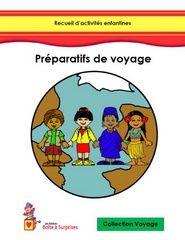 Achat en ligne de la collection Voyage des recueils d'activités préscolaires éducatives - Les éditions Boîte à Surprises