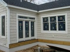 Best Color Of Vinyl Siding And Trim On Our House Herringbone 400 x 300