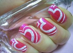 36 Cute Nail Art Designs for Valentines Day