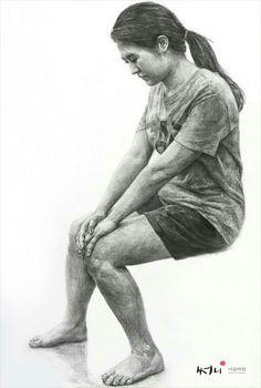 인체소묘 Human Sketch, Human Drawing, Gesture Drawing, Body Drawing, Figure Sketching, Figure Drawing, Still Life Drawing, Portrait Sketches, Art Academy