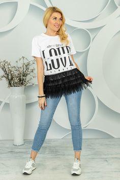 Bluzka Cerdida Spring Collection, T Shirts For Women, Fashion, Tunic, Moda, Fashion Styles, Fashion Illustrations