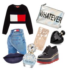 """""""Tommy H."""" by pia-koenig on Polyvore featuring Mode, Prada, Circus By Sam Edelman, Tommy Hilfiger, Lipsy, Jeffree Star und Marc Jacobs"""