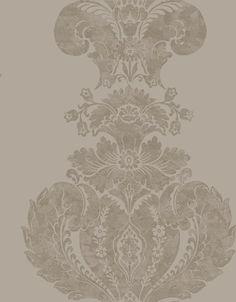 Cole & Son Wallpaper 94/1001.CS Baudelaire Mole & Silver