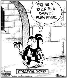 Practical Joker...    - 'Free Range' by Bill Whitehead;  2/25/13