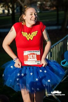 My Glasgow 10k mo run. Didn't of it for a time, did it for the fun, the dressing up and the awesome medal!!