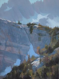 Bill Cone - depiction of some Ansel Adams Wilderness - I have been here!