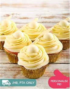 Confectionary Cakes and Cupcakes: White Lindt Chocolate Cupcakes !