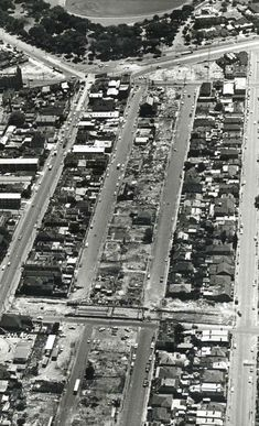 Demolitions to make way for the four-lane extension of Queens Way at St Kilda Junction (circa Melbourne Victoria, Victoria Australia, Victorian History, Melbourne Suburbs, St Kilda, Historical Architecture, Historical Pictures, Historic Homes, Landscape Photos