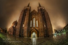 The Cathedral of Roskilde by JacobSurland. @go4fotos