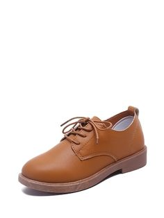 Oxfords arriba baja con cordón Romwe, Oxfords, Derby, Oxford Shoes, Dress Shoes, Lace Up, Flats, Shoe Bag, Shopping