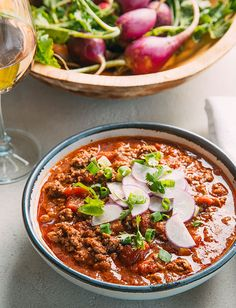 No Bean Chili - Recipes Chili Without Beans, Whole 30 Diet, No Bean Chili, How To Dry Oregano, Chili Recipes, Ground Beef, Main Dishes, Food And Drink, Meals