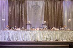 Elegant Wedding Décor by CupcakeJewls Events
