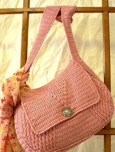 Crochet Handbag...great site for free patterns