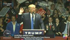 Na TV aberta, SBT faz cobertura solitária da eleição americana