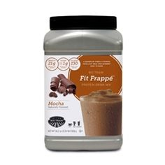 Mocha Protein Coffee Drink/Beverage shake mix powder 2.26 lb Container | Big Train Fit Frappe
