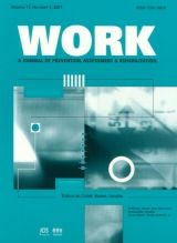 Work: A Journal of Prevention, Assessment and Rehabilitation
