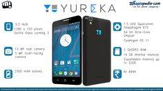 YU Yureka Specifications - Infographics– Infographics @ Shopinpedia