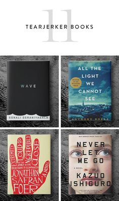 11 Books for When You Need a Good Ugly-Cry via @PureWow