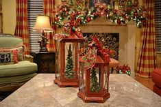 41 Amazing Christmas Lanterns For Indoors And Outdoors | DigsDigs