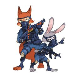 T, the Special Weapons And Tactics division. Every big-city police force has one, and Zootopia Zootopia Characters, Zootopia Fanart, Zootopia Comic, Disney Duos, Disney Zootropolis, Disney Fan Art, Fox Character, Character Design, Zootopia Concept Art