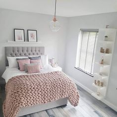 55 pretty pink bedroom ideas for your lovely daughter 11 Girl Bedroom Designs Bedroom Daughter Ideas Lovely pink Pretty Cute Bedroom Ideas, Cute Room Decor, Room Ideas Bedroom, Home Bedroom, Master Bedroom, Bedroom Small, Bed Ideas, Square Bedroom Ideas, Dream Bedroom
