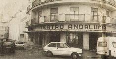 Entrada superior del Teatro Andalucía por la Calle Sacramento esquina Londres.
