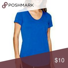 """Stylus Short-Sleeve Voop Pocket T-Shirt - Tall Kick back and relax in classic fashion with this super soft T-shirt with its flattering voop neckline.   v-neck short sleeves approx. 29"""" length rayon/polyester washable imported Stylus Tops Tees - Short Sleeve"""