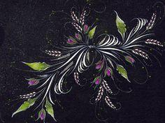 Ink Flourishes: Prismacolor Flourish