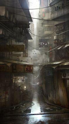'Chinatown' by Piotr Krężelewski.