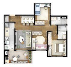 apartamento de 40 mts quadrados - Pesquisa Google