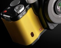 Working in conjunction with renowned designer Marc Newson , PENTAX finally unveils the PENTAX hybrid digital camera. Id Design, Shape Design, Modern Design, Detail Design, Global Design, Photography Equipment, Product Photography, Design Research, Aircraft Design