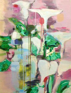 "Lily, 30x24"", oil on canvas, 2012 MARY ANN STRANDELL ©"