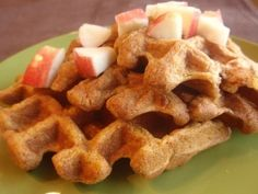 Pumpkin Waffles | Healthy Ideas for Kids