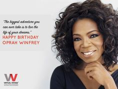 """On the birthday of Oprah Winfrey, share your stories with us!  You never know """"""""Who"""""""" finds unbound inspiration in your life"""