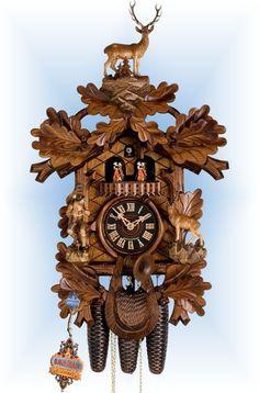 Hones Big Buck Hunter cuckoo clock 24'' - Bavarian Clockworks