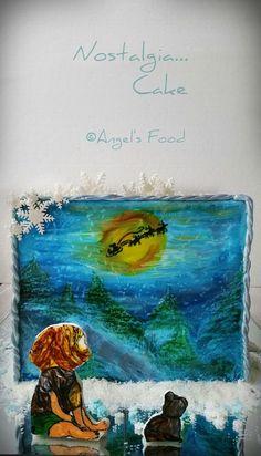 for My Birthday Nostalgia, Magic, Cakes, Birthday, Blog, Christmas, Painting, Art, Natal